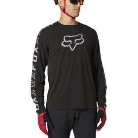 Fox Ranger Dri-Release Foxhead LS Jersey Men, black